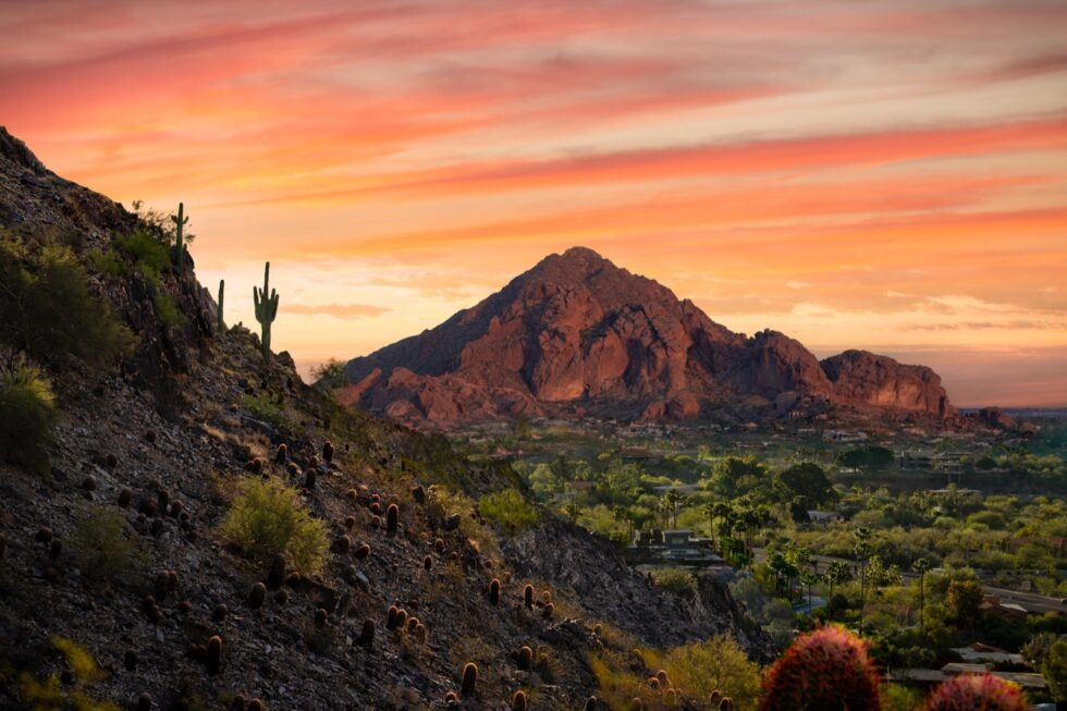 Camelback Mountain, courtesy of Arizona Office of Tourism